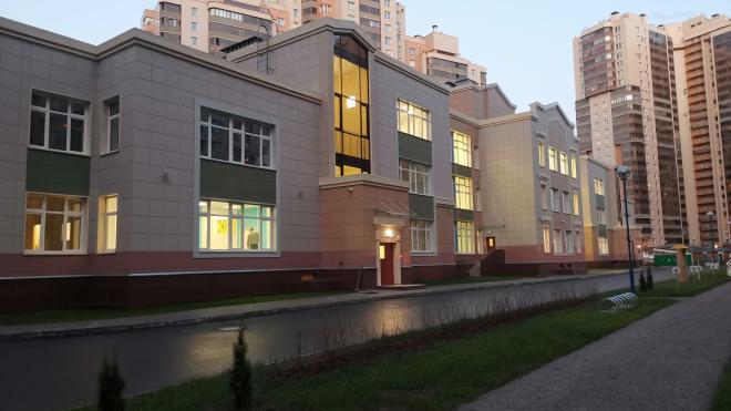 В Петербурге на Яхтенной улице достроилидетский сад