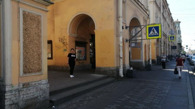 Петербуржцы недовольны состоянием Садовой улицы