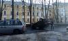 В Пушкине перевернулся автомобиль, пострадал водитель