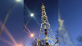 Подсветку на петербургской телебашне капитально отремонт...