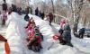 Открытие самой большой снежной горки в Петербурге перенесено на Рождество