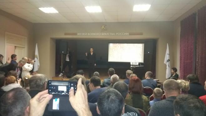 Чичерина презентовала новую песню в Петербурге