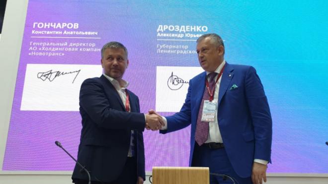 """В морском торговом порту """"Усть-Луга"""" появится новый универсальный торговый терминал"""