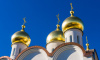 Накуполах воссозданного Скорбященского храма появились кресты