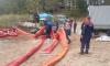 Продлены действия по устранению результата дорожно-транспортного инцидента в Выборгском районе.