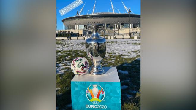 Стали известны даты тура кубка Европы по футболу в Петербурге