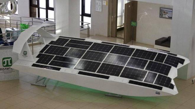 В Петербурге испытают беспилотный экраноплан на солнечной энергии