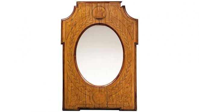 Зеркало с яхты Александра III выставили на продажу за 2,2 млн рублей