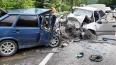 В лобовом ДТП на Кубани под Туапсе погибли 5 человек