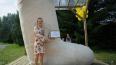Петербургская художница продает валенок-великан высотой ...