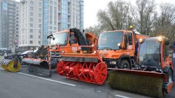 Власти Петербурга закупят уборочную технику почти ...