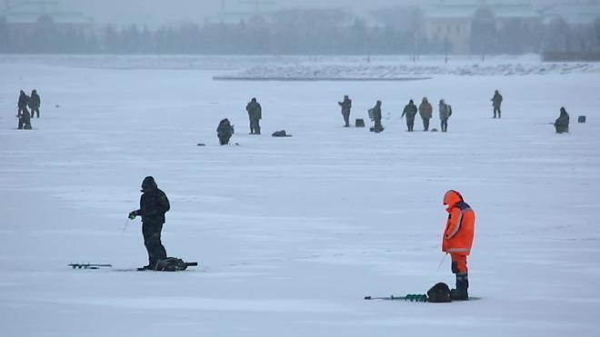 За время действия запрета выхода на лёд в Петербурге поймали более 3,5 тыс. нарушителей