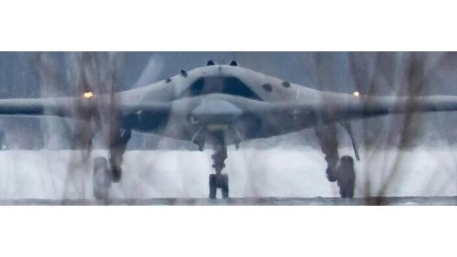 В Сети опубликовали фото ударного беспилотника С-70, способного развить скорость более 1000 км/ч