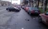 На Орджоникидзе водитель заснул за рулем и влетел в припаркованные машины