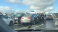 BMW спровоцировал массовую аварию на мосту Александра ...