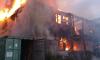 В пожаре на Выборгском шоссе пострадали восемь человек