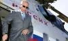 Путин прилетел на вертолете на петербургский Обуховский завод
