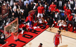 Фотография с матча НБА признана лучшей за 2019 год среди спортивных снимков по версии World Press Photo