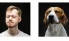 Петербурженка сравнила мимику собаки и хозяина