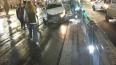 В центре города водитель белой иномарки врезался в трамв...