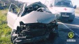 В аварии в Ломоносовском районе пострадали двое