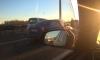 Девять машин столкнулись на КАД: дорога встала в многокилометровой пробке