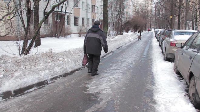 Смольный объяснил применение соли для борьбы с наледью на дорогах Петербурга