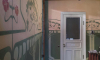 В петербургской квартире нашли старинные росписи, которые хранились под слоем краски