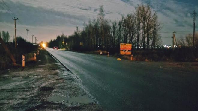 Появились фото смертельного ДТП в Ломоносовском районе