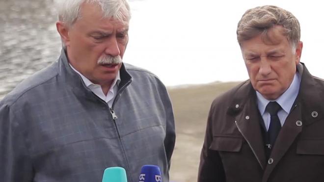 """Полтавченко послал """"лучи радости"""" грустным строителям Петербурга"""