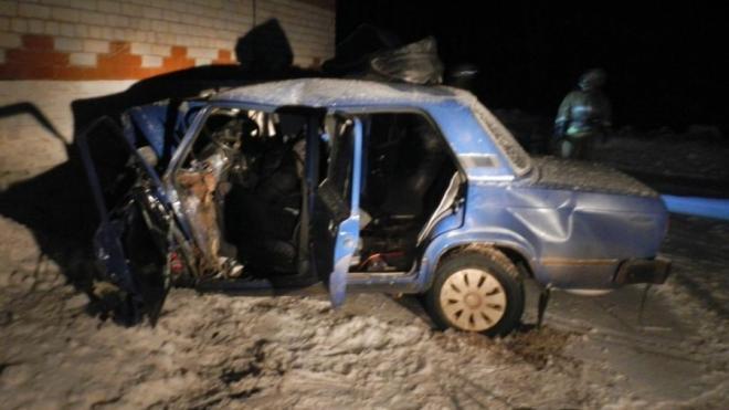Под Костромой в странном ДТП погиб водитель, протаранив пост ГИБДД
