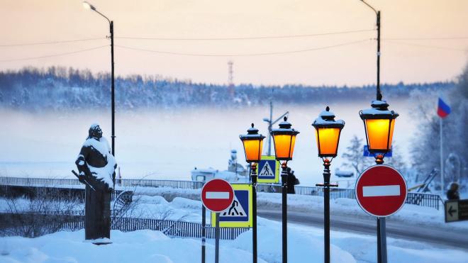 В Выборге изменен режим работы уличных фонарей