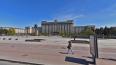 На Московской площади начали разбирать фонтаны