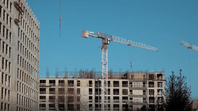 В Петербурге введен 1,233 млн квадратных метров жилья с начала 2020 года