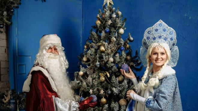 Дед Мороз и Снегурочка поздравят пассажиров на Финляндском вокзале