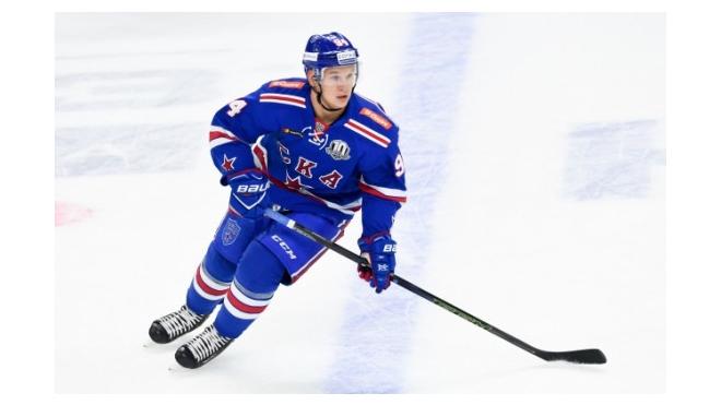 Хоккеист Александр Барабанов стал самым молодым почетным жителем Петергофа
