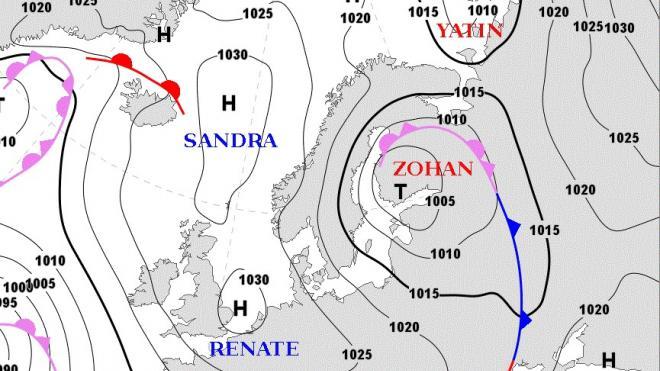 """Стало известно, чем опасен циклон """"Зохан"""" и какую погоду он принесет в Петербург"""