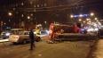 На проспекте Стачек пожарная машина перевернулась ...