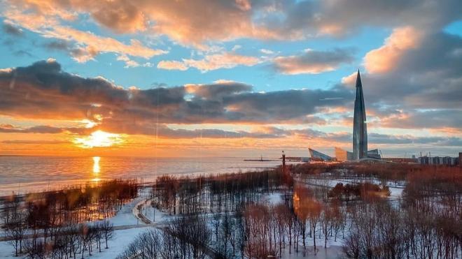 В пятницу в Петербурге ожидается небольшой морозец