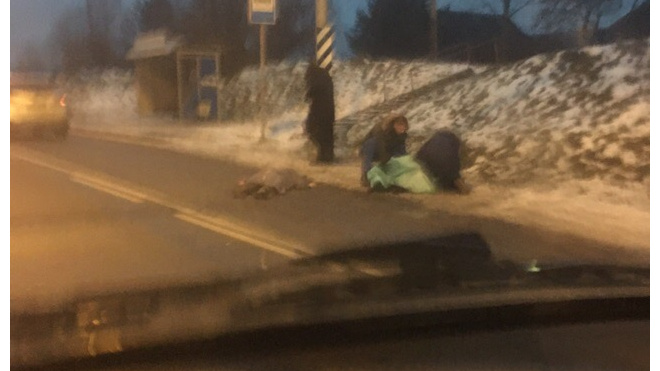 На Киевском шоссе водительВАЗ сбил троих человек: есть пострадавшие