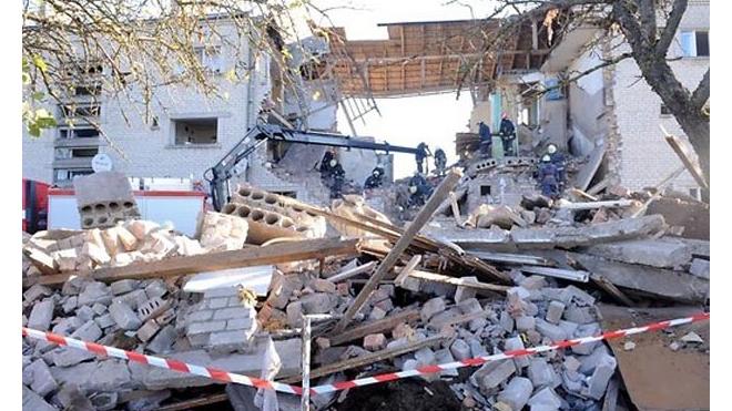 В Латвии при обрушении дома погибли люди