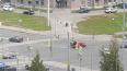 Петербуржцев испугал звук аварии на перекрестке Ленинского ...