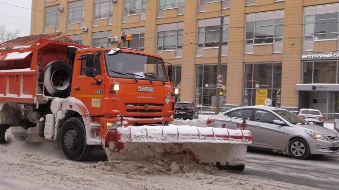 Пункты Водоканала в Петербурге растопили 18 тысяч кубометров снега за сутки