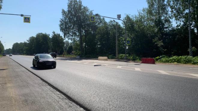 Во Всеволожском районе проходит дорожный ремонт