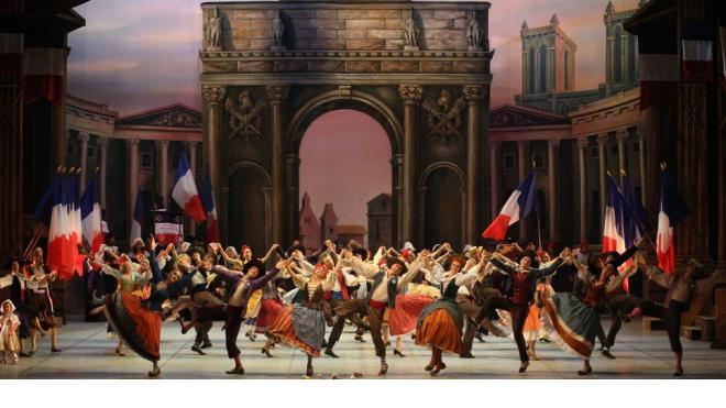 """Балет """"Пламя Парижа"""""""