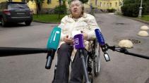 Из Мариинской больницы выписали 85-летнюю блокадницу, переболевшую коронавирусом