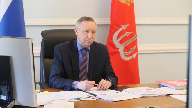 Александр Беглов обсудил эпидситуацию в Петербурге с Валентиной Матвиенко