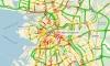 Петербуржцы возмущены 8-балльными пробками на дорогах