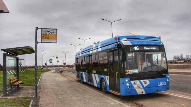 На маршрут №46 добавили троллейбусы с увеличенным автономным ходом