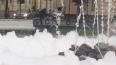 Хулиганы серьезно повредили фонтан на Манежной площади ...